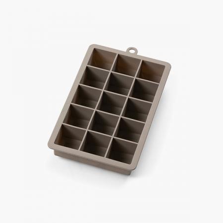 """Isterningebakke silikone """"Terninger"""" 3x3 cm (15 stk.)"""