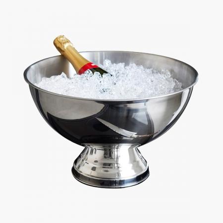 Champagnekøler rustfrit stål 25(H) x 39(Ø) cm