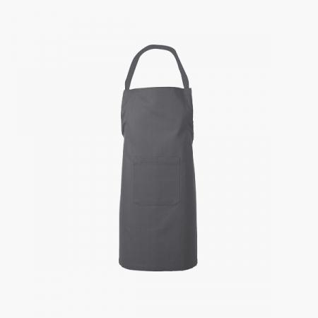 Forklæde 82x93 Gastro grå