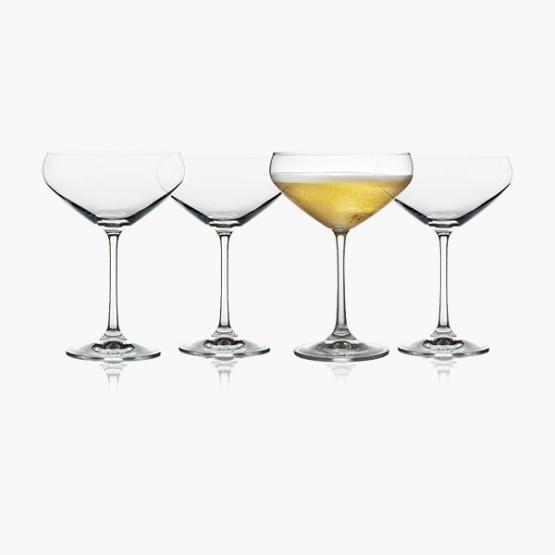 Champagneskål Lyngby Juvel 34 cl (4 stk.)