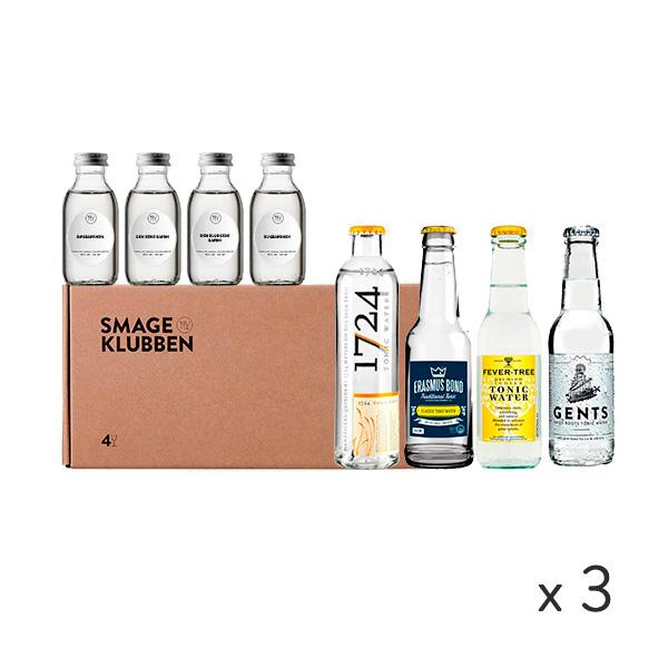 Gin og tonic kassen - 3 måneder