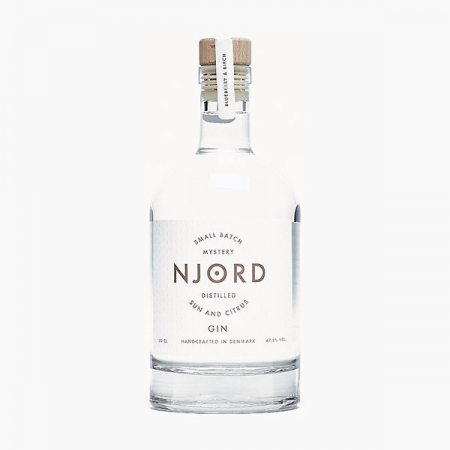 Njord Gin Sun and Citrus