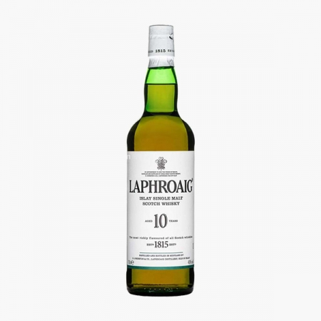 Laphroaig 10 år Single Islay Malt Whisky