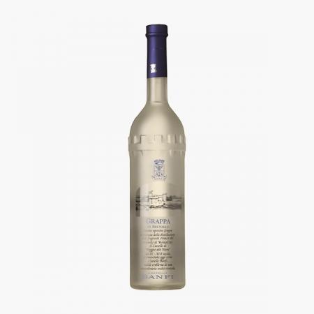 Grappa di Brunello Tower Bottle Castello Banfi