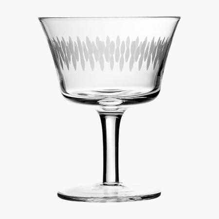 Retro Fizz Engraved Cocktailglas 20 cl (6 stk.)