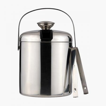 Isspand rustfrit stål 1,4 liter