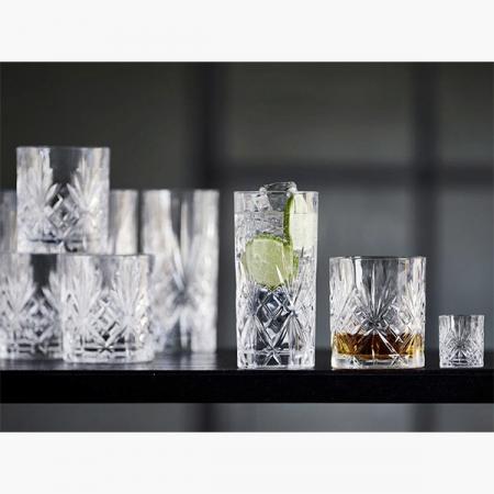 Glassæt Lyngby Melodia (12 dele)