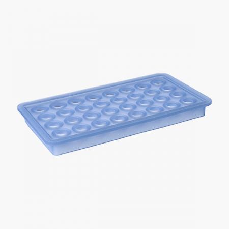 """Isterningebakke silikone """"Kugler"""" 2 cm"""