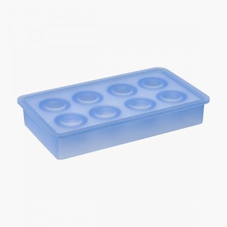 """Isterningebakke silikone """"Kugler"""" 3,3 cm"""