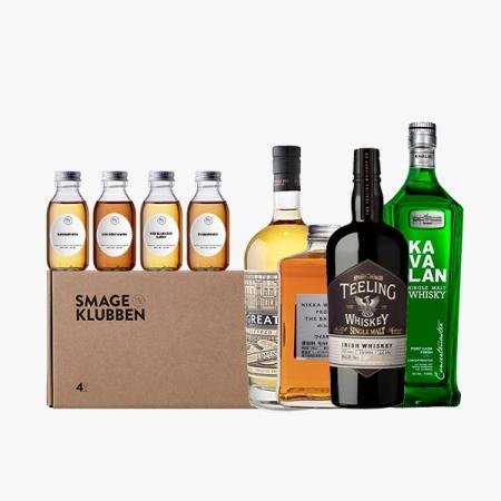 """Whiskykassen #4 - """"Jorden rundt"""""""