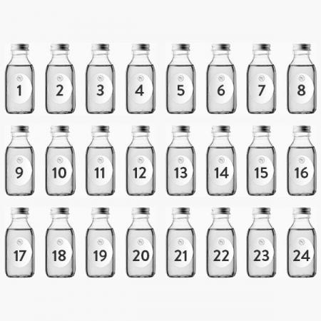 Smageklubbens julekalender med gin (24 x 100 ml)