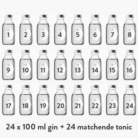 Smageklubbens julekalender med gin & tonic