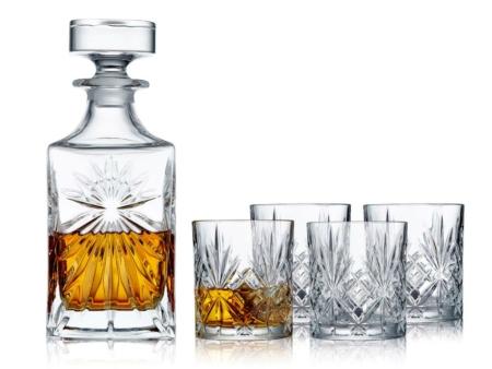 Whiskysæt Lyngby Melodia krystal (5 dele)