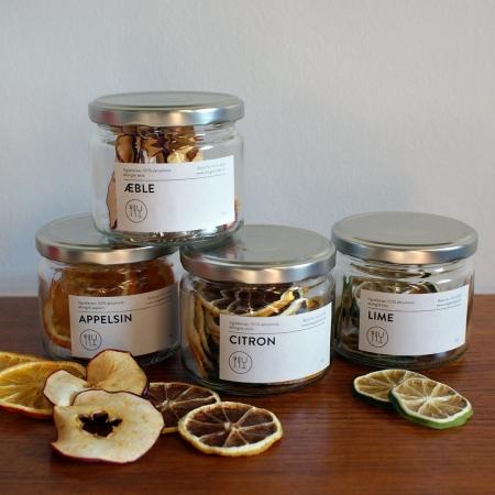 Tørret frugt (4 varianter)