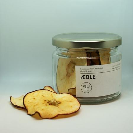 Tørret æble