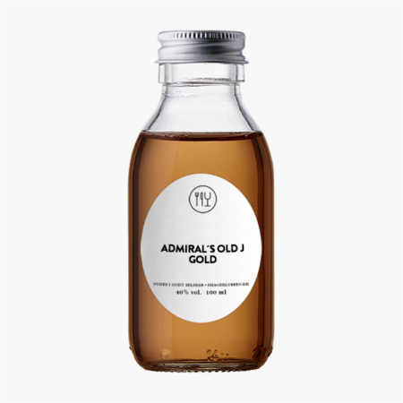ADMIRAL'S OLD J SPICED GOLD ROM 40% -5 CL / 10 CL